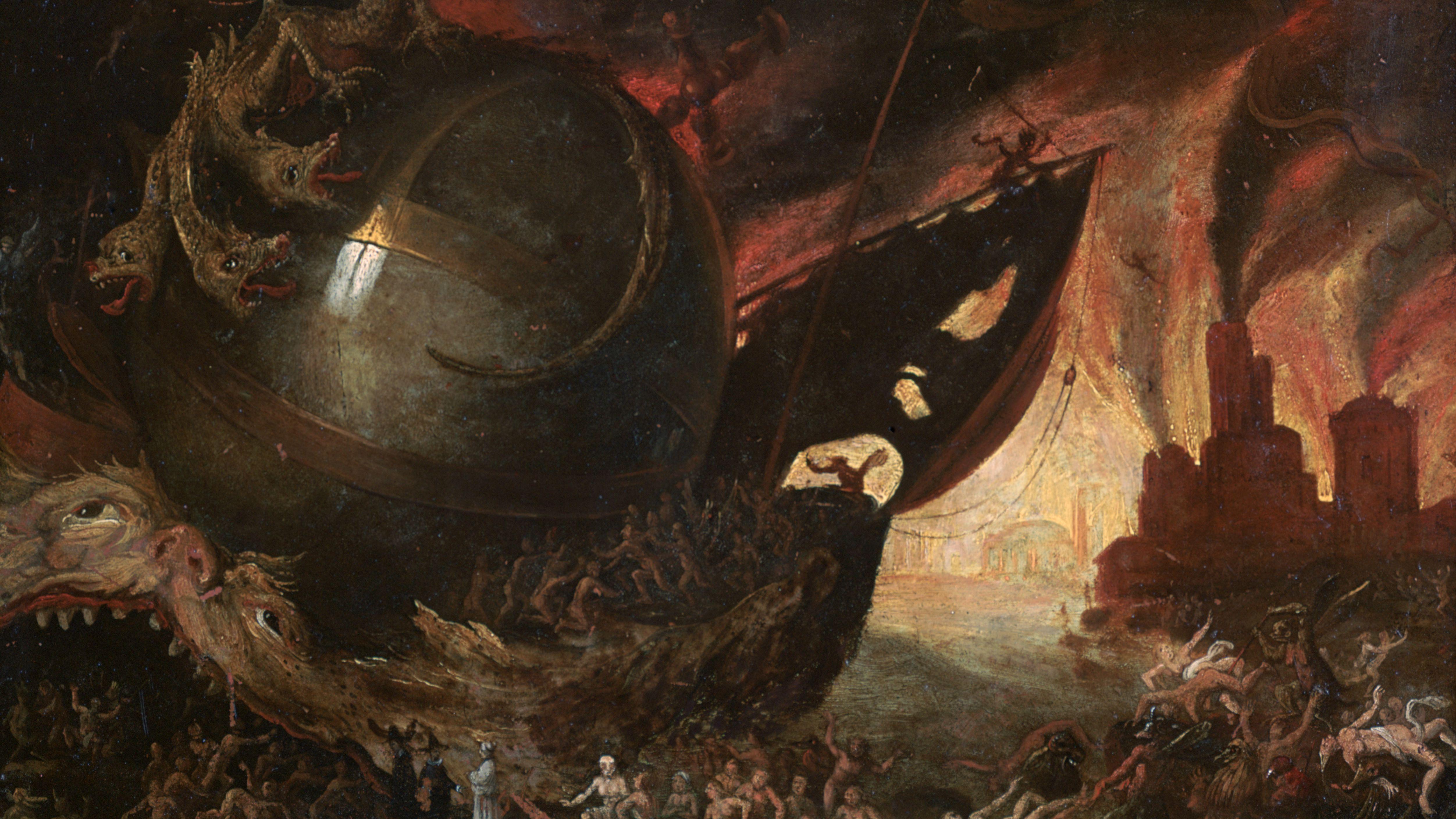 Five Rivers of the Greek Underworld