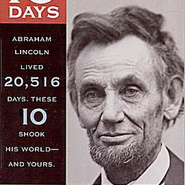 Cover art of 10 Days Abraham Lincoln a nonfiction children's book