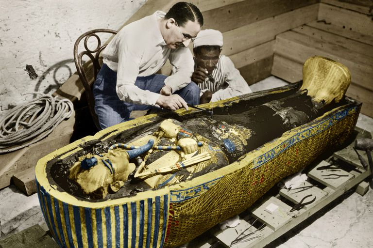 Image result for king tut's tomb