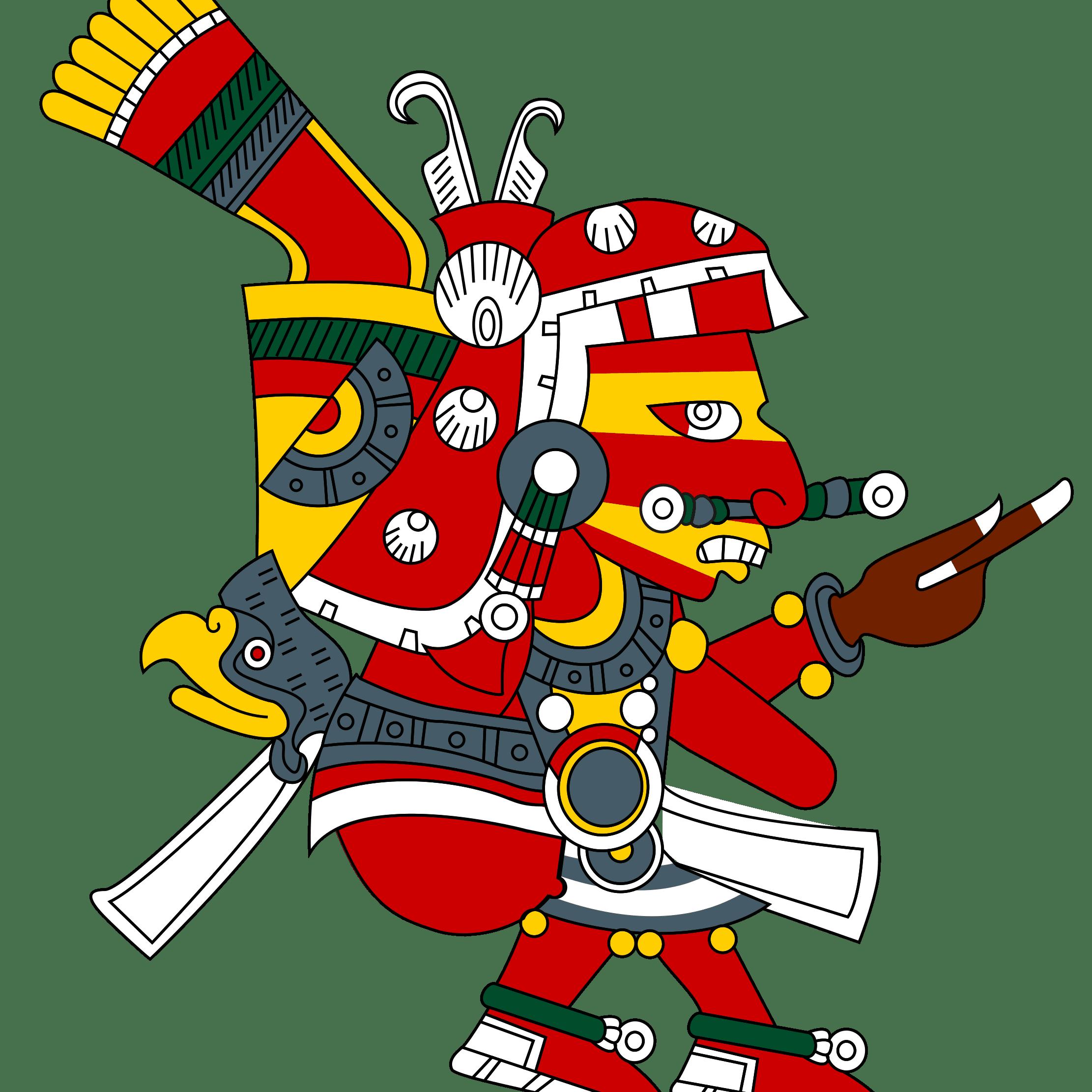 Xipe Totec, Based on the Borgia Codex