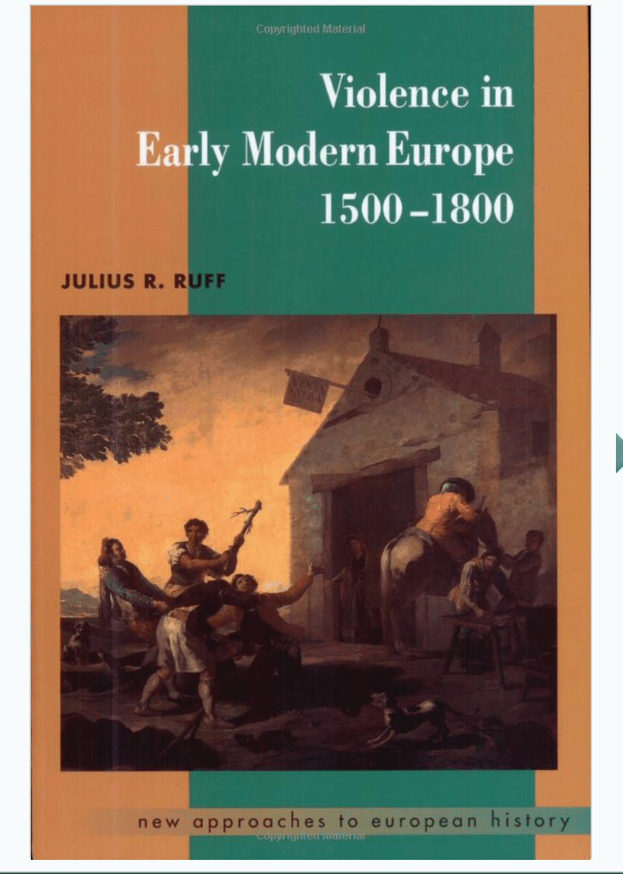 Violence in Early Modern Europe