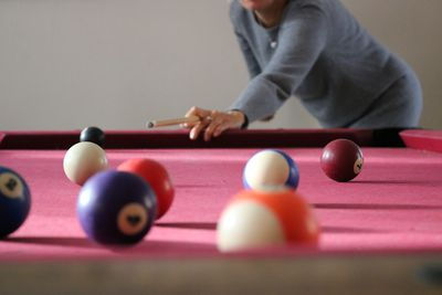 Draw The Cue Ball Correctly In Pool