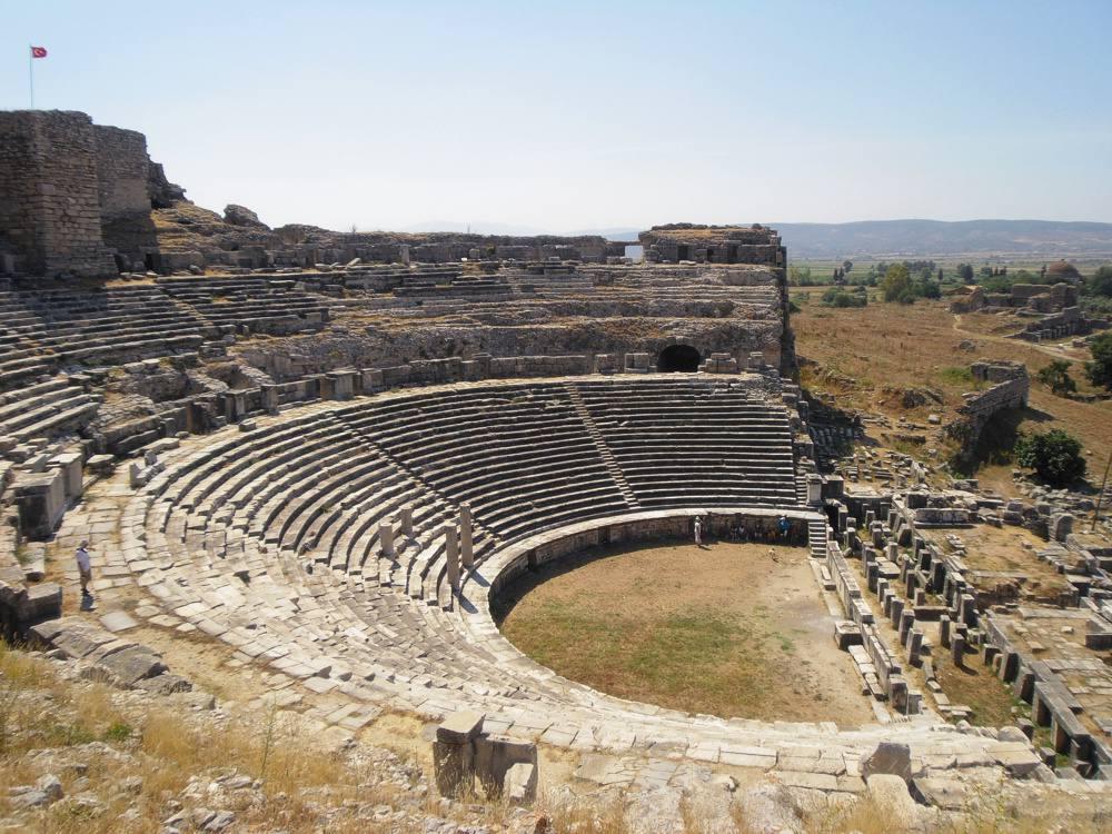 Theater of Miletus (4th Century B.C.).