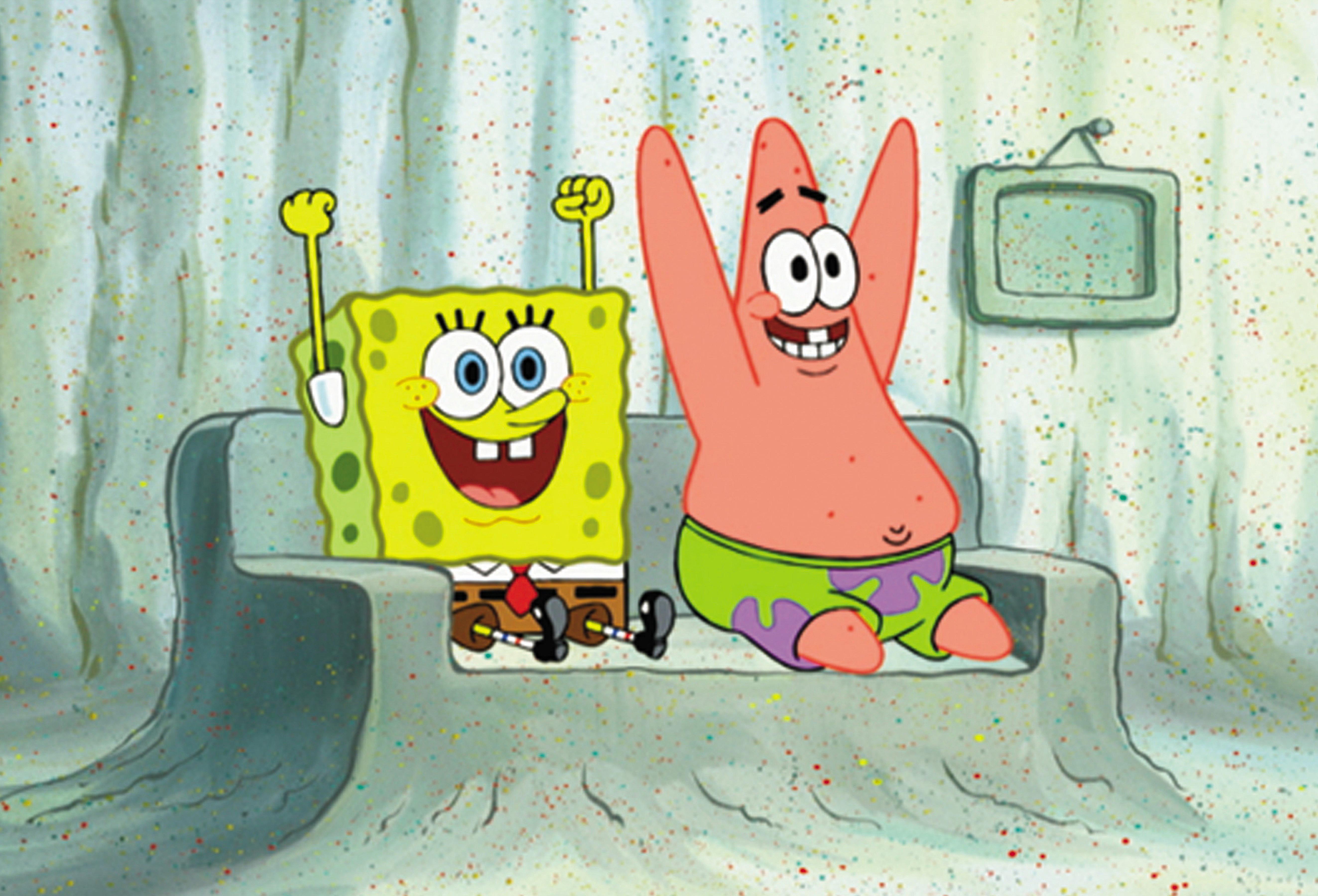SpongeBob SquarePants. SpongeBob and Patrick
