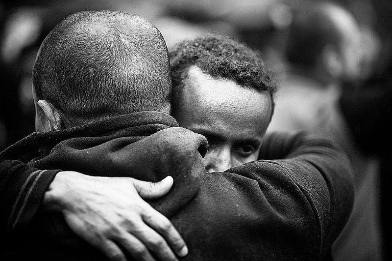 Image result for black friends hug