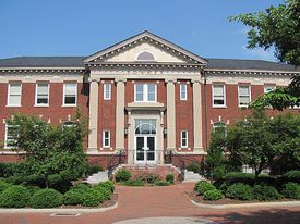 Forney Building at UNCG