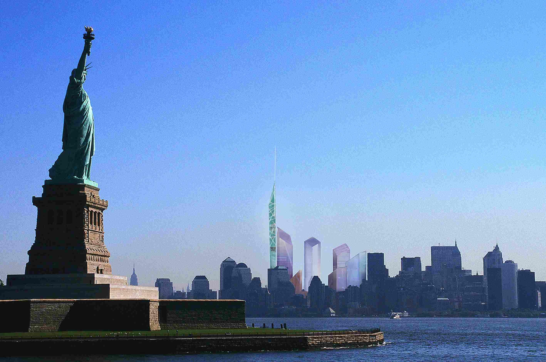 The Original 2002 Plan for Ground Zero