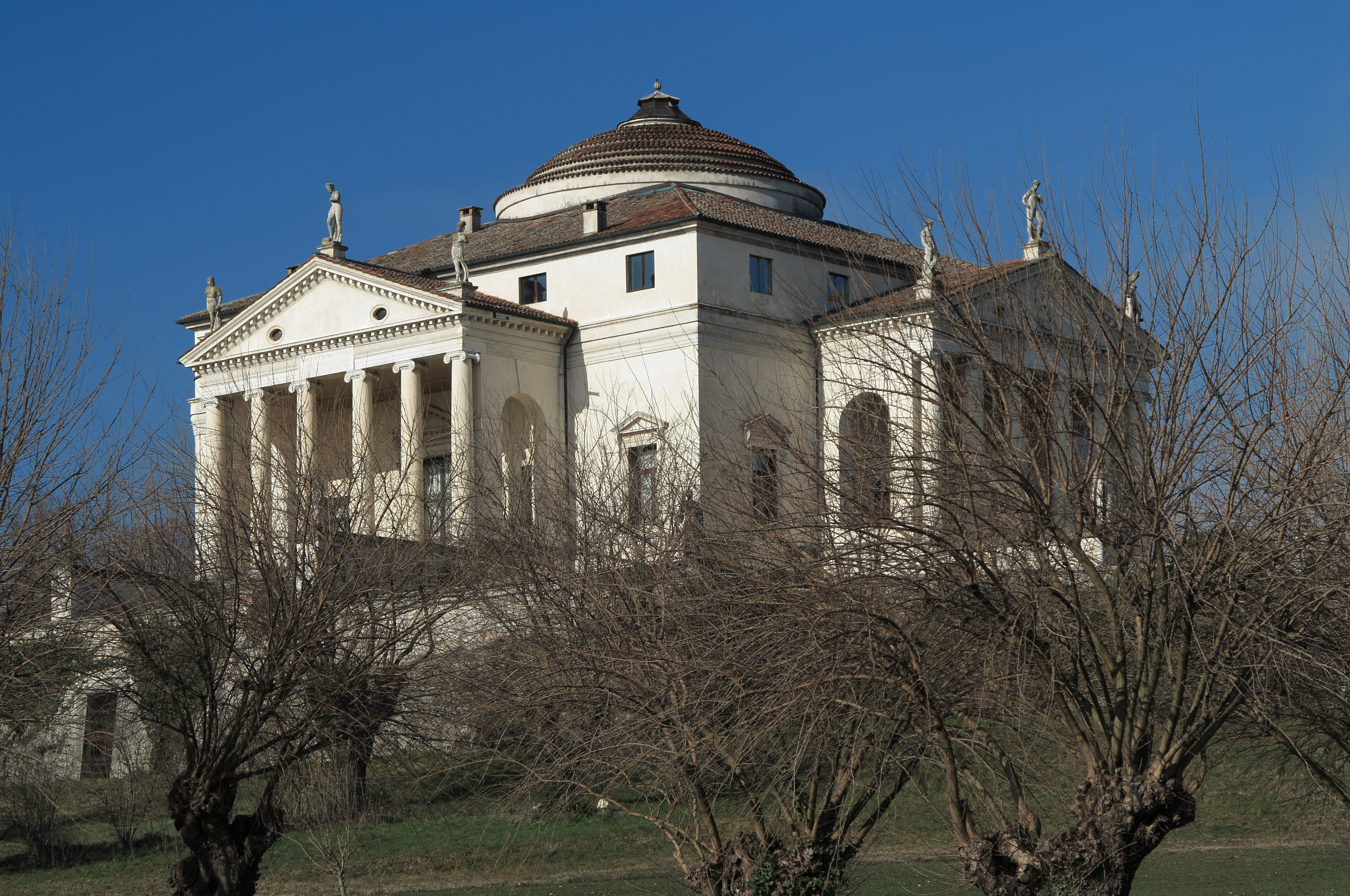 Villa Rotonda (Villa Almerico-Capra), near Venice, Italy, 1566-1590, Andrea Palladio