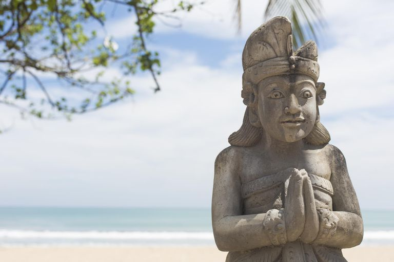 Balinese Hindu Temple Carving