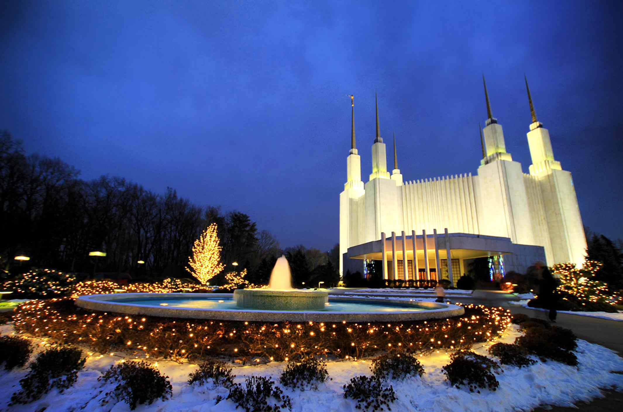 LDS temple in Washington, DC