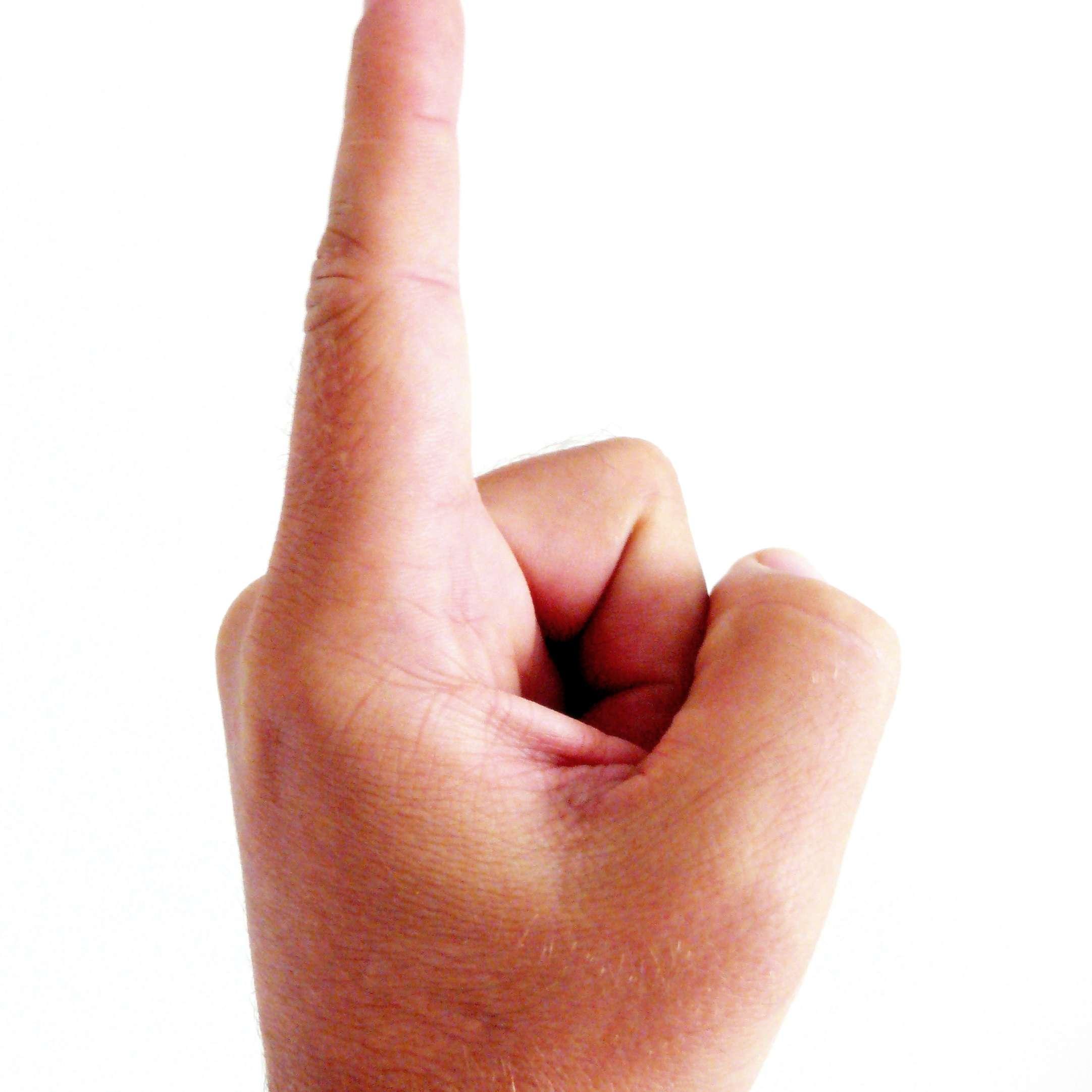 Картинки палец
