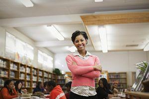 Portrait of Smiling Substitute Teacher
