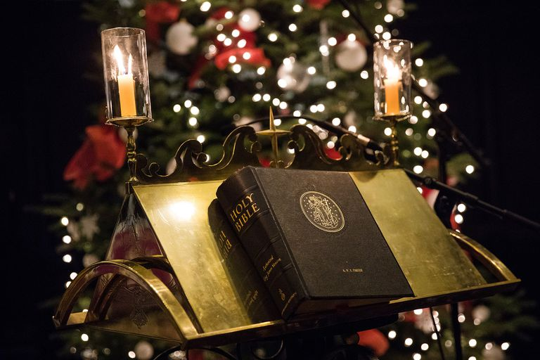 christmas bible jack taylor getty images