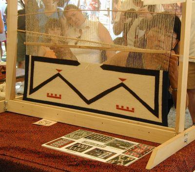 Frauenweberei vom Smithsonian Folk Festival 2002