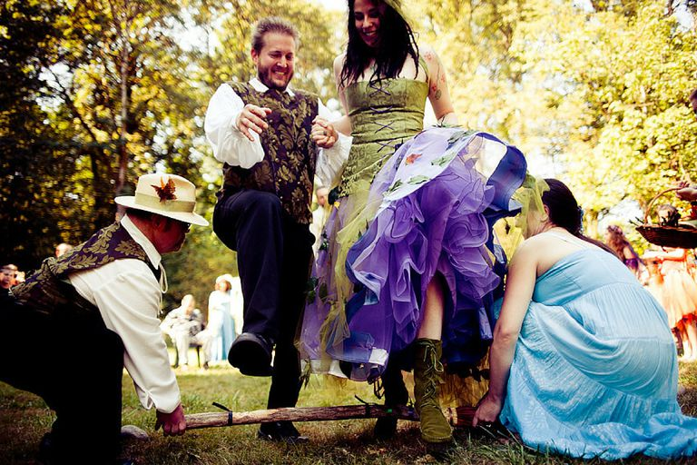 Jumping The Broom Besom Weddings