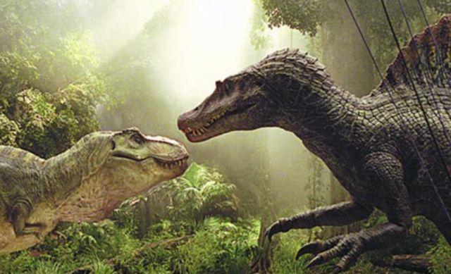 Spinosaurus in Jurassic Park III