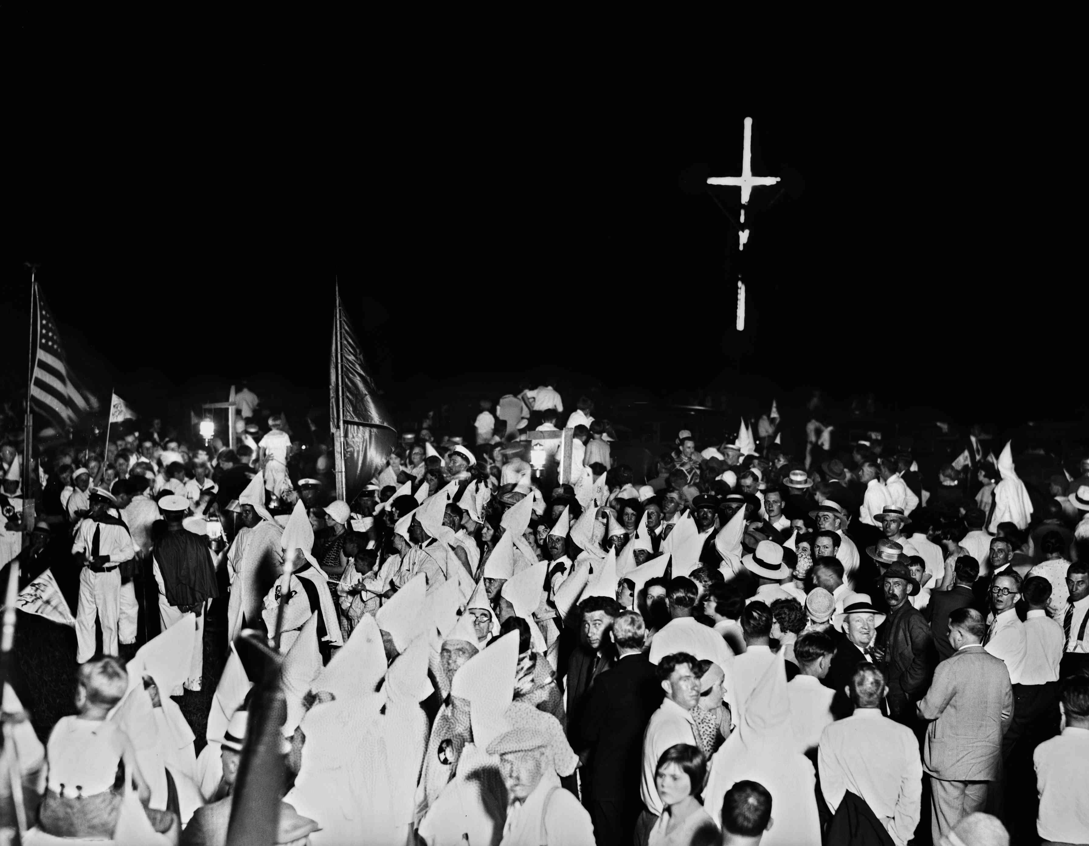 Ceremony Of Initiation Into Ku Klux Klan