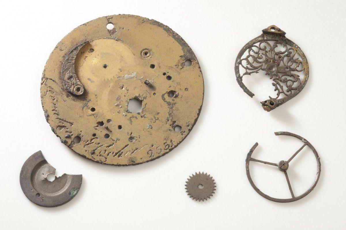 Artefakte aus der Swifterbant-Kultur.