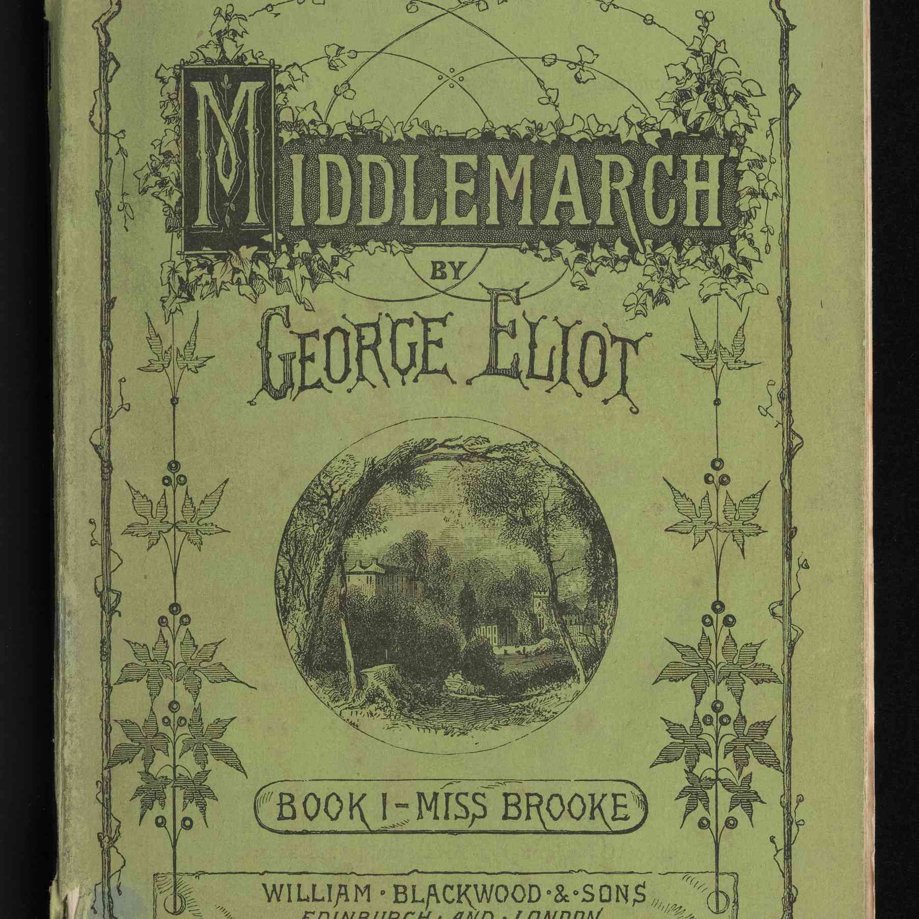 Buchcover von Band 1 von Middlemarch von George Eliot