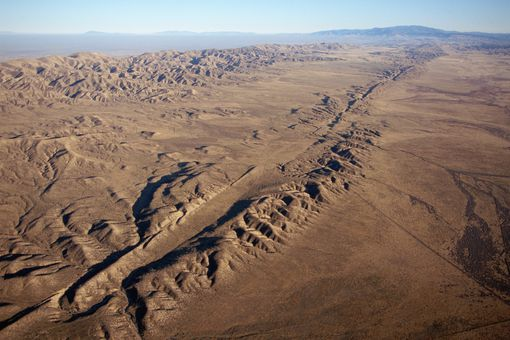 Earthquakes San Andreas Fault