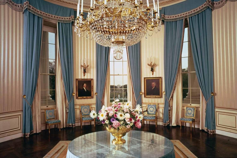 White House blue room