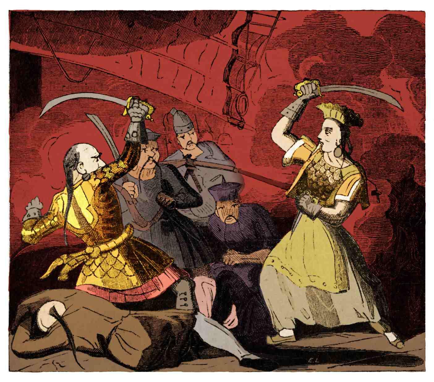 Mrs Ching widow of pirate Adminiral Ching