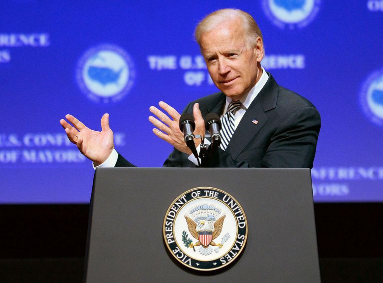 Vice President Biden Addresses U.S. Conference Of Mayors In Las Vegas