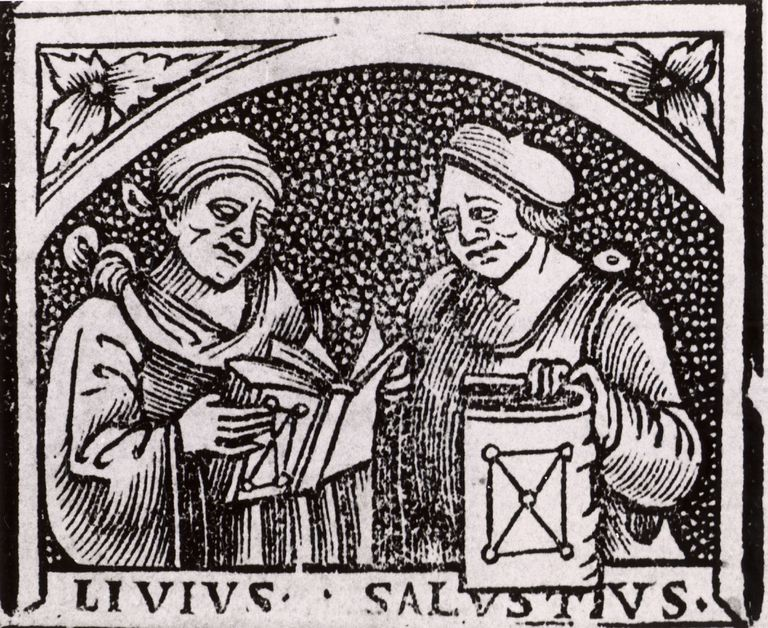Ancient Roman historians Sallust and Livy