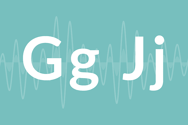 "Letters ""G"" and ""J"""