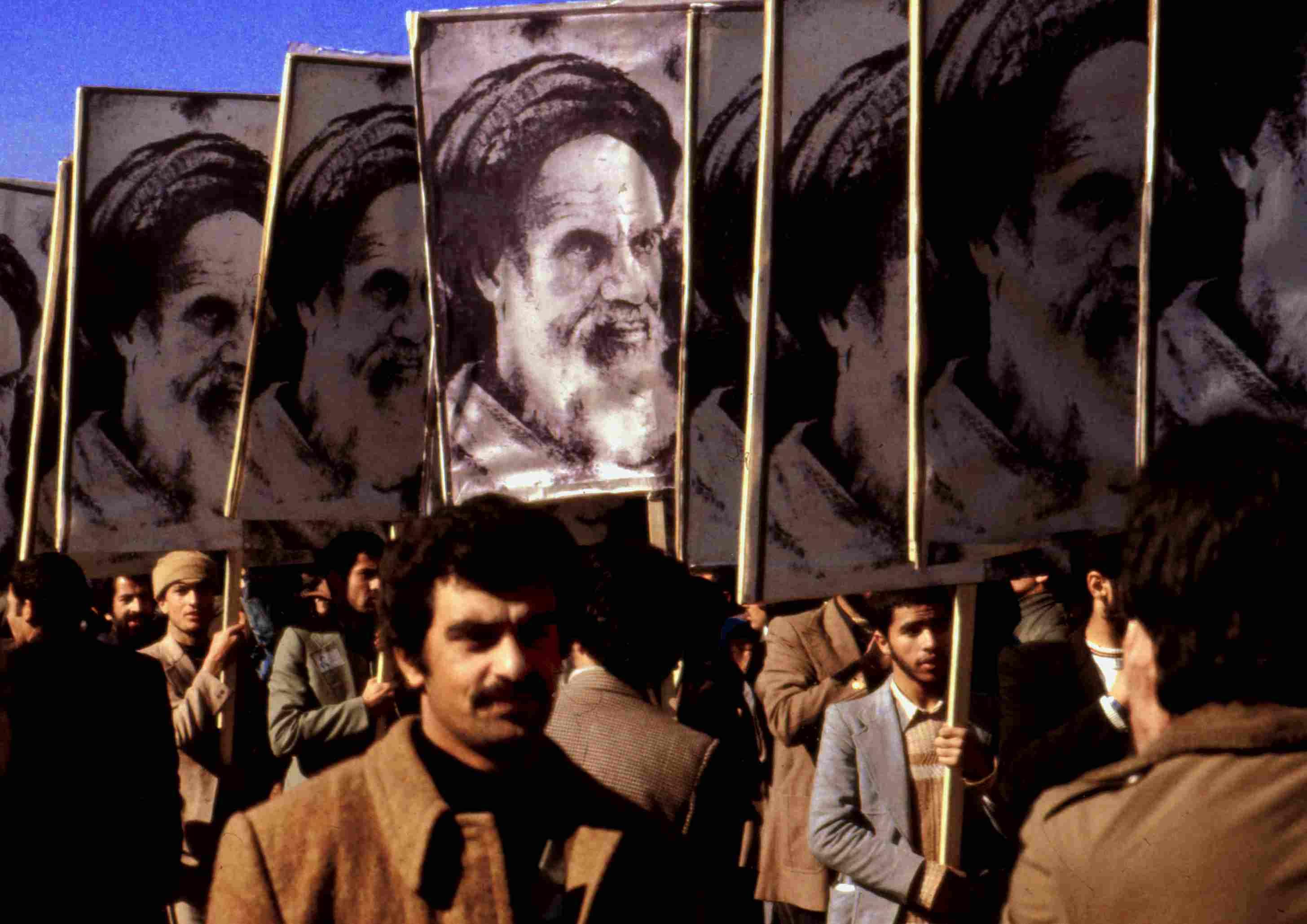Public Demostration against the Shah