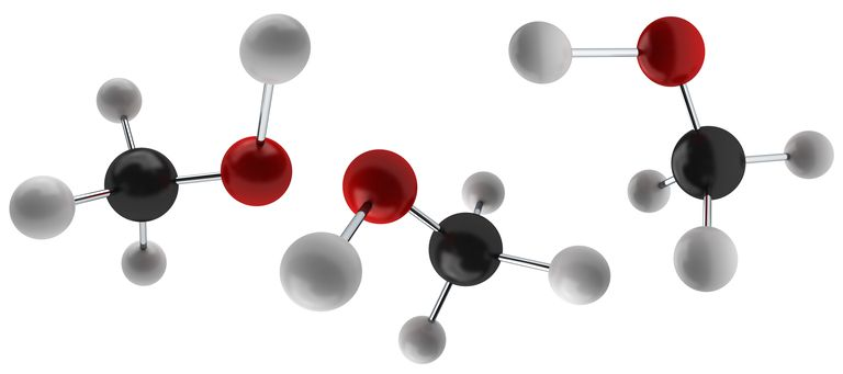 Methyl alcohol or methanol consists of a methyl group bonded to an OH group.
