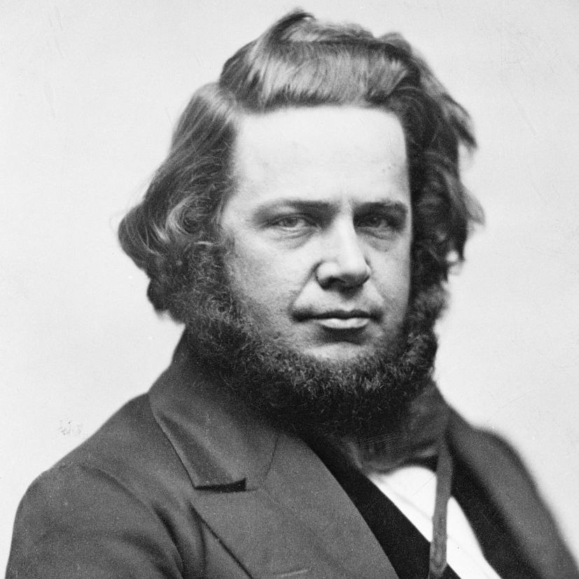 Elias Howe (1819-1867) inventor of the sewing machine.