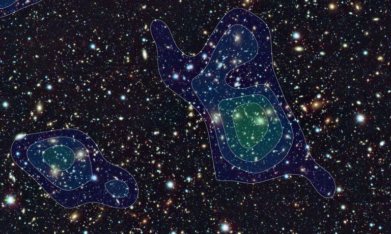 Hubble 'Soğuk Karanlık Madde' Kuramına Kanıt Buldu…