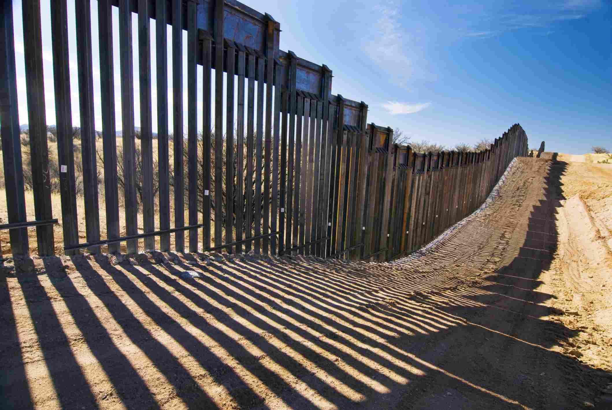Frontera entre USA y México