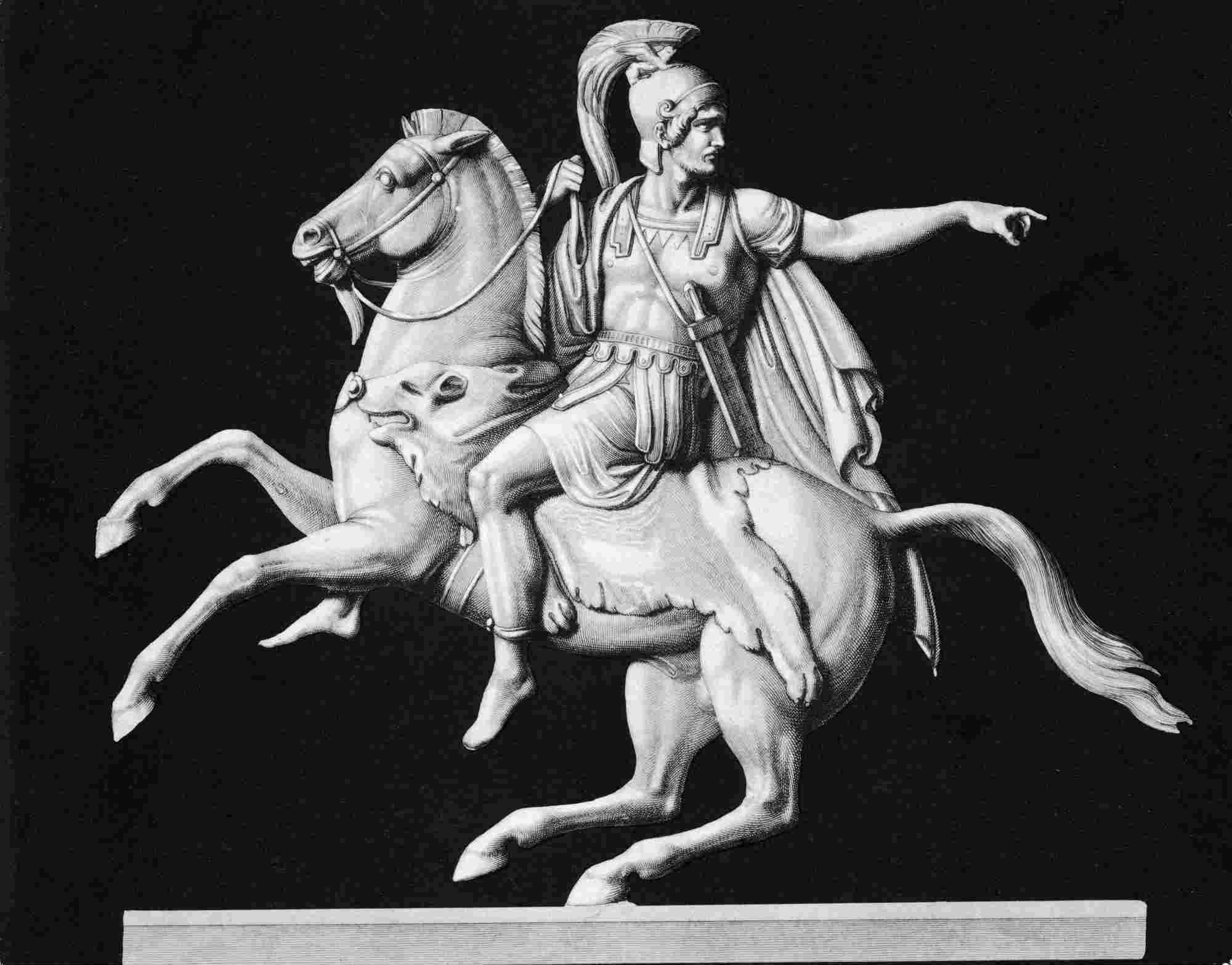 Portrait Of Hannibal On Horseback