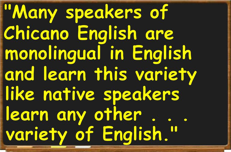 Definition And Examples Of Chicano English