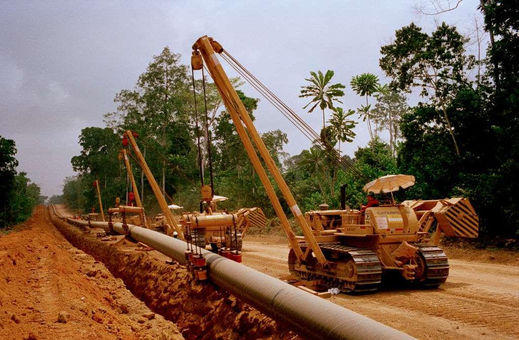 Exxon Cameroon/Chad oil pipeline