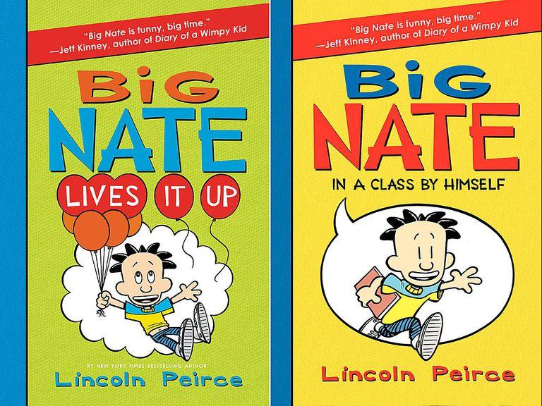 Cover Art for Big Nate Children's Books