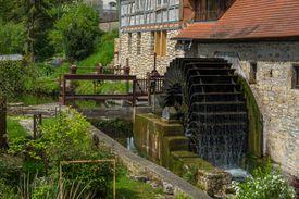 old watermill in Buchfart, Thuringia