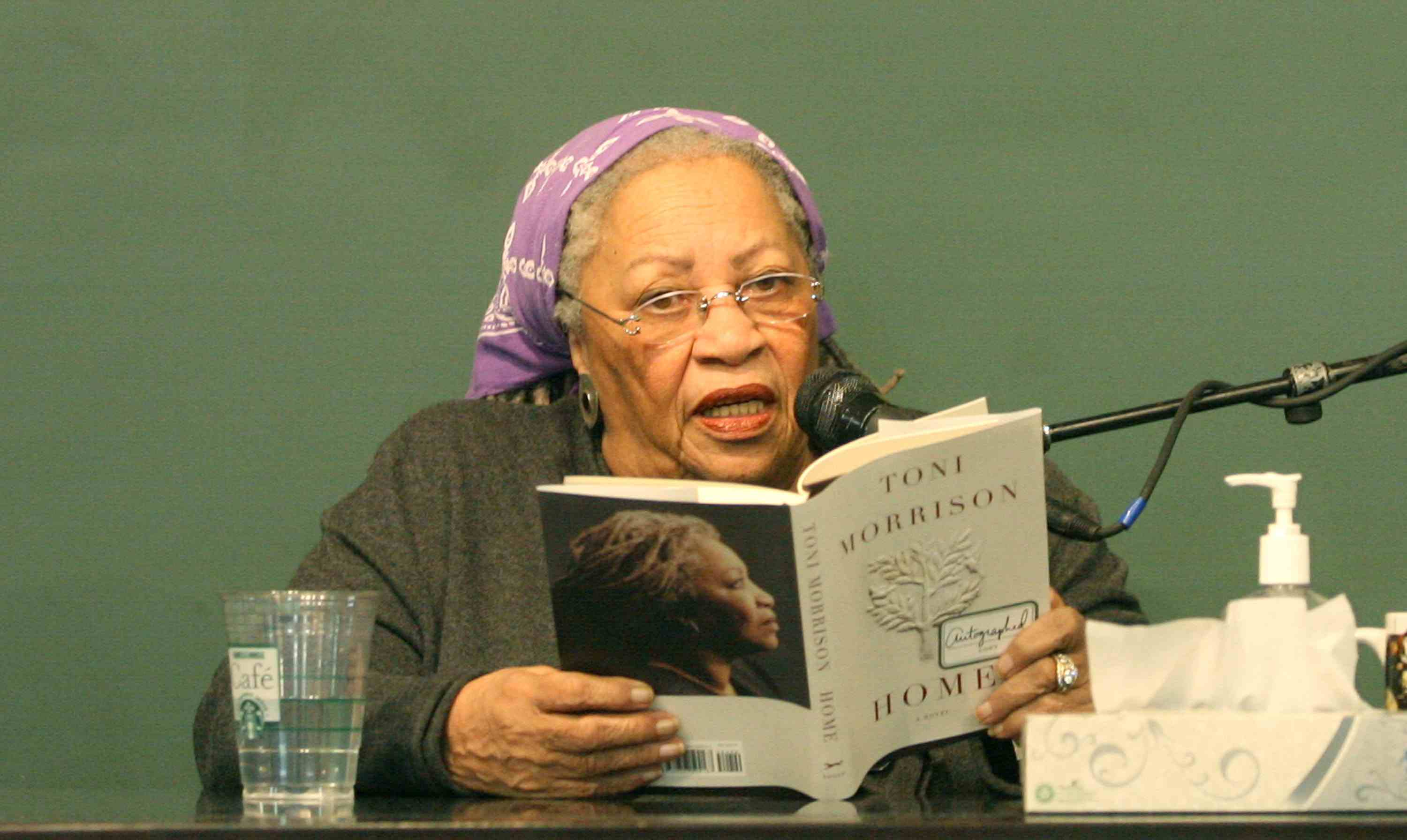 Toni Morrison Signs Copies Of 'Home'