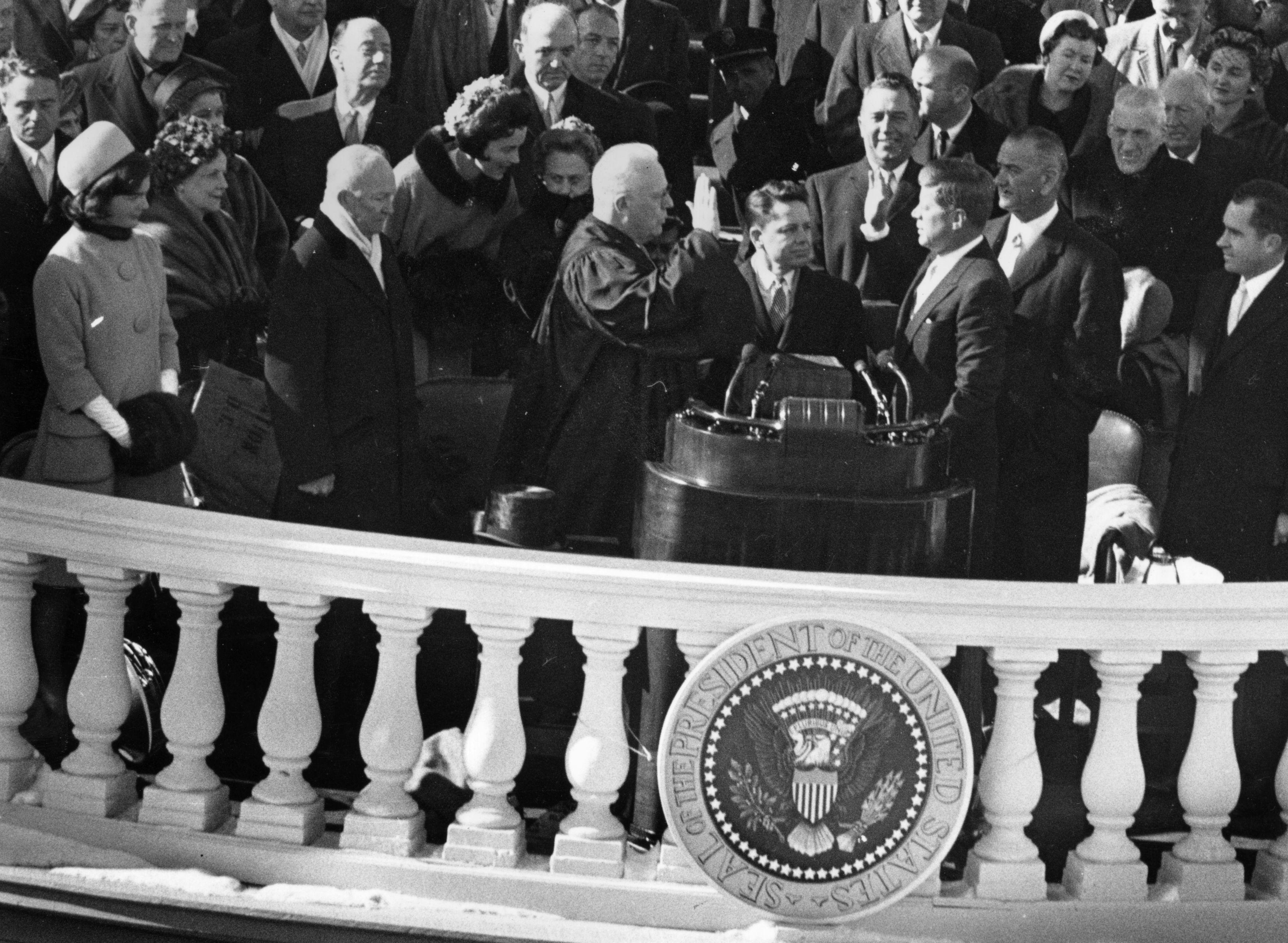 President John F. Kennedy Swearing In