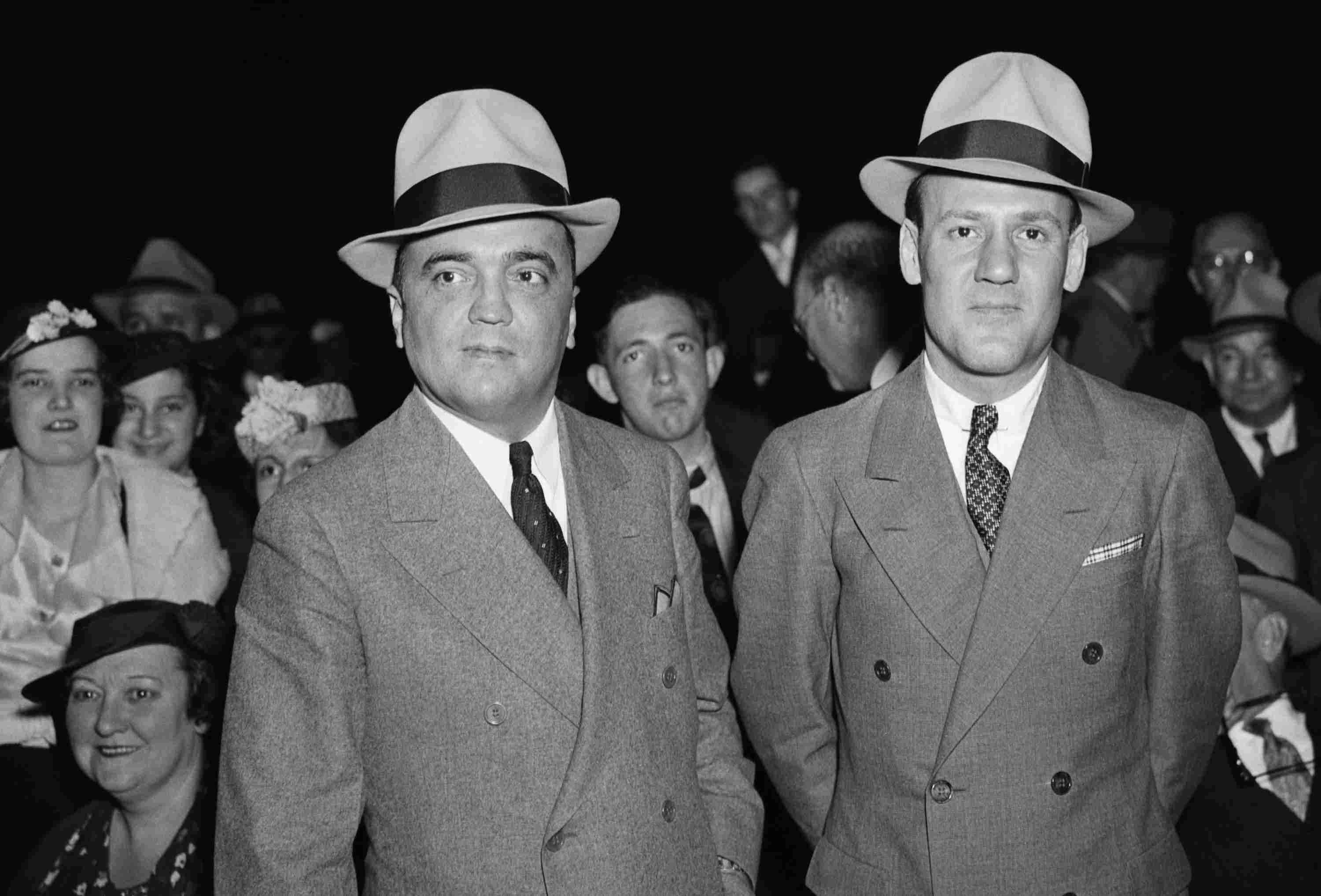 Photo of J. Edgar Hoover and Clyde Tolson