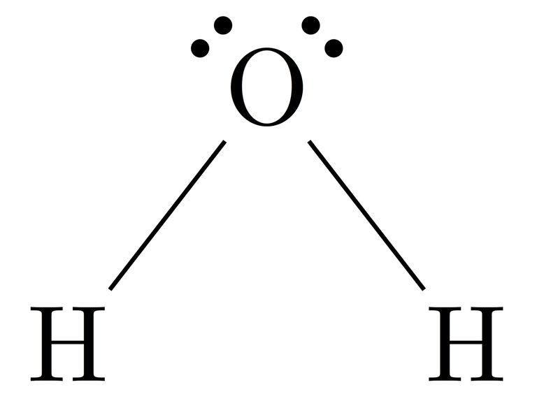 Lewis dot structure diagram.