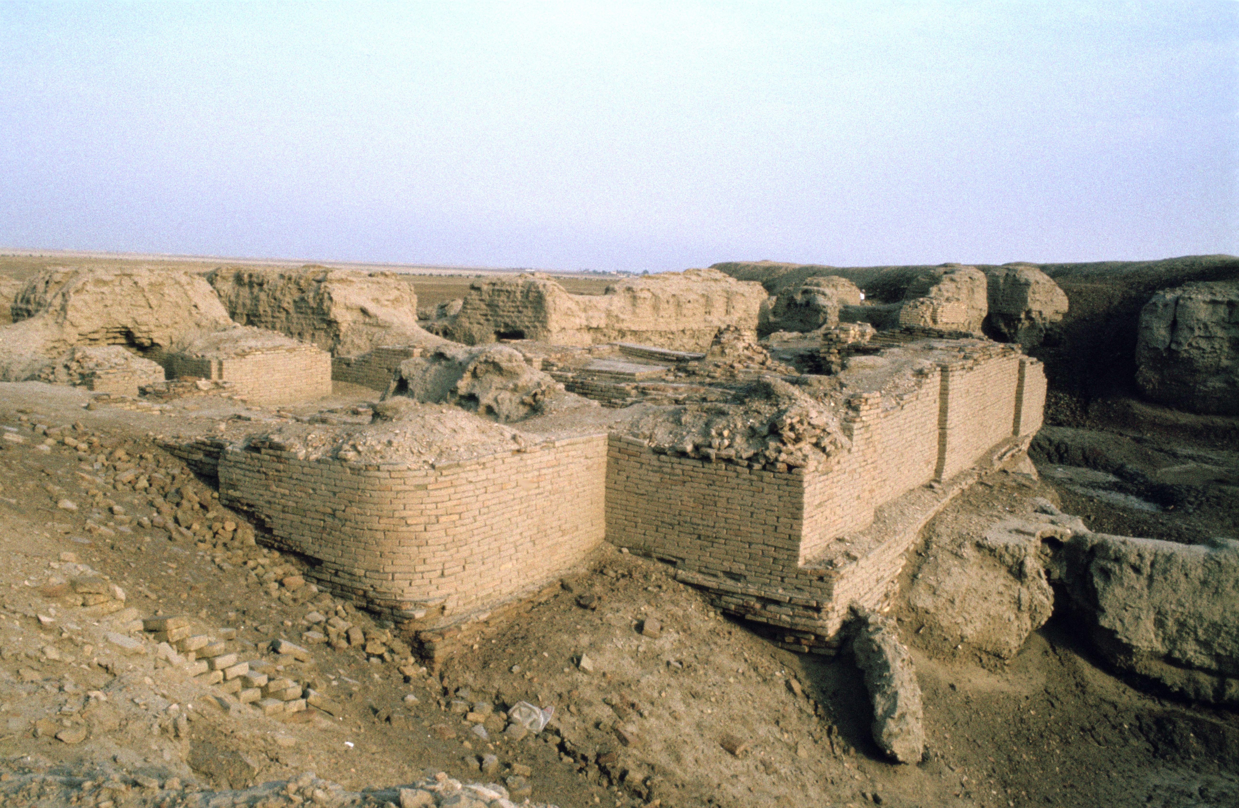 Royal cemetery, Ur, Iraq, 1977
