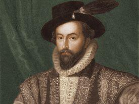 Illustration of Sir Walter Raleigh