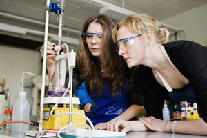 Primary standards may be used in titrations.