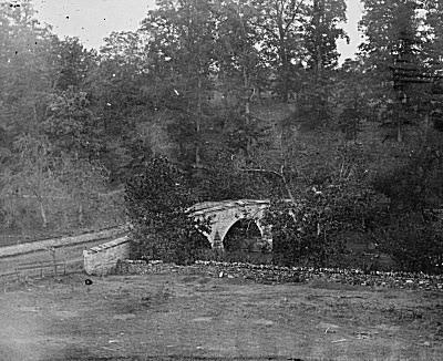 The Burnside Bridge at Antietam in 1862