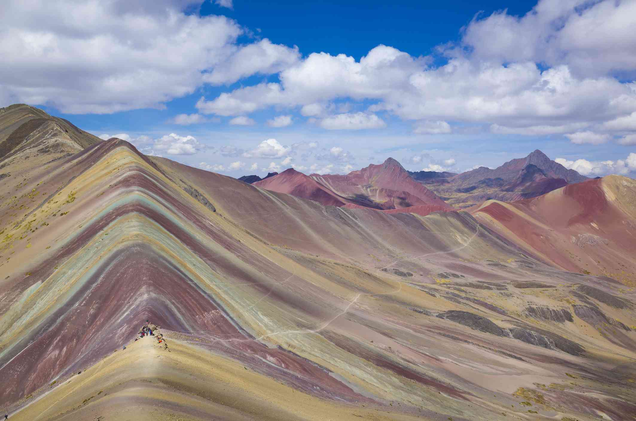 the Winicunca also known as Rainbow mountain