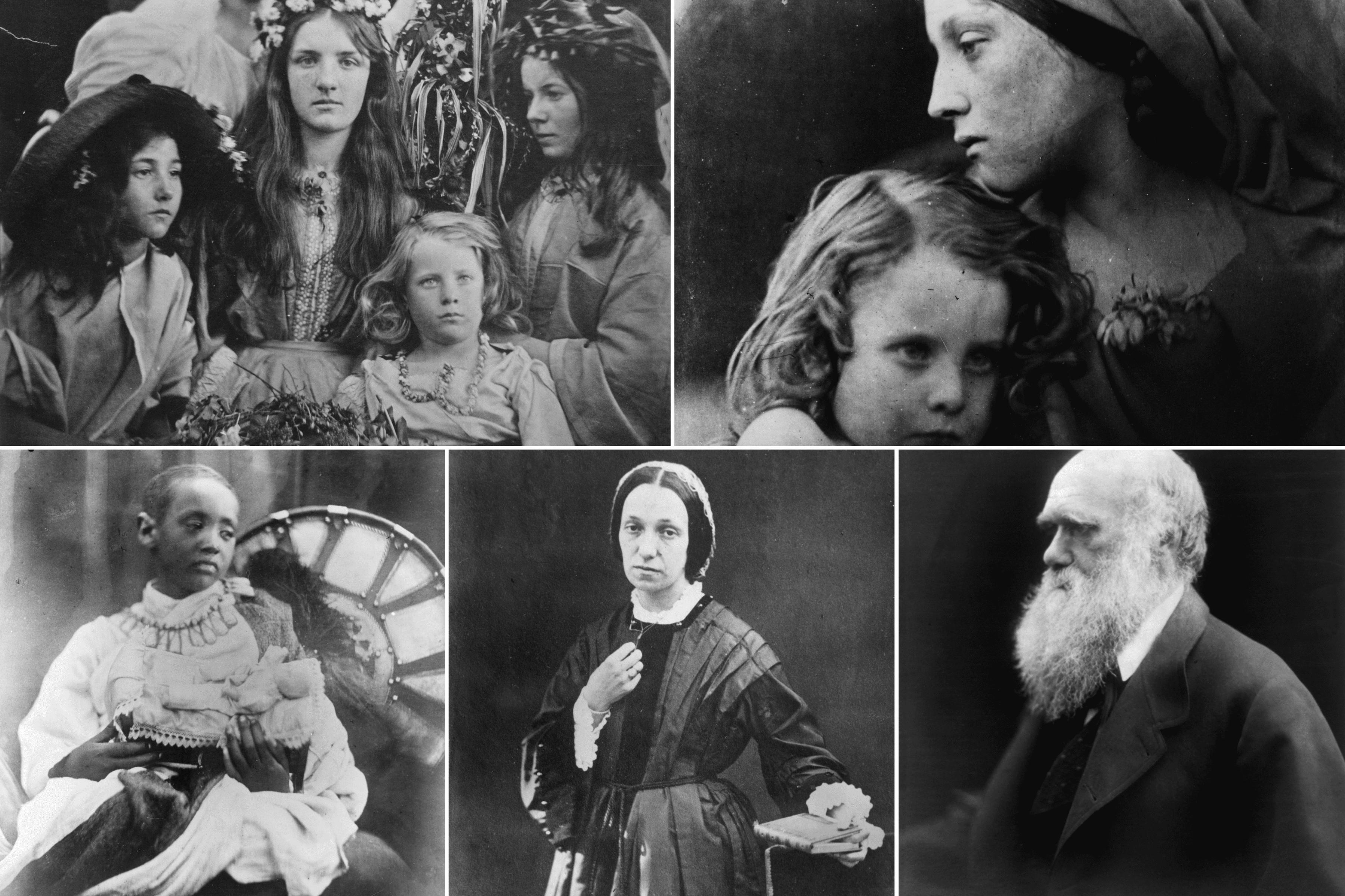 Julia Margaret Cameron photographs