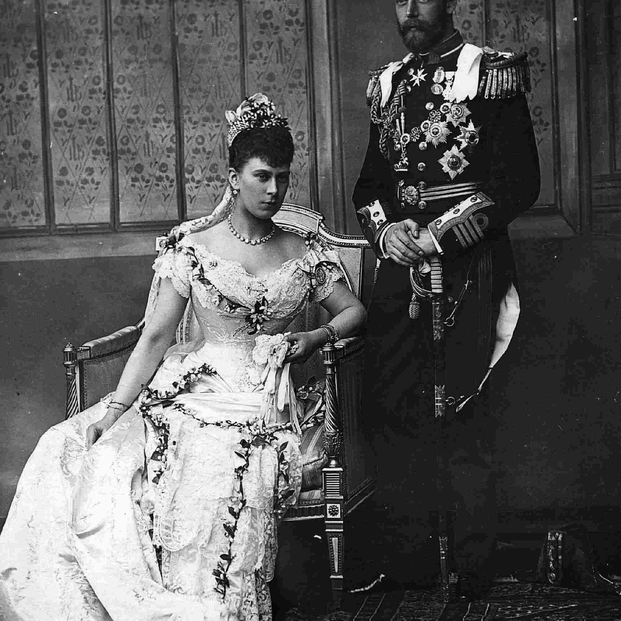 ジョージ5世とメアリーオブテック王女。